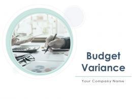 Budget Variance Powerpoint Presentation Slides