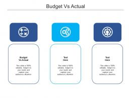 Budget Vs Actual Ppt Powerpoint Presentation Layouts Example Topics Cpb