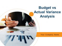 Budget Vs Actual Variance Analysis Powerpoint Presentation Slides