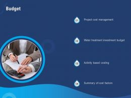 Budget Water Treatment Investment Factors Ppt Powerpoint Presentation Influencers