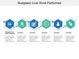 Budgeted Cost Work Performed Ppt Powerpoint Presentation Inspiration Infographics Cpb