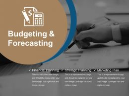 Budgeting And Forecasting Powerpoint Ideas