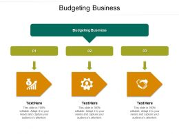 Budgeting Business Ppt Powerpoint Presentation Icon Demonstration Cpb