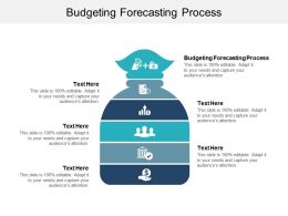 Budgeting Forecasting Process Ppt Powerpoint Presentation Outline Designs Download Cpb