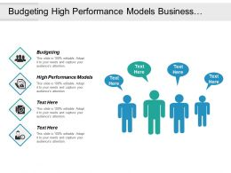 Budgeting High Performance Models Business Intelligence Interactive Marketing Design Cpb