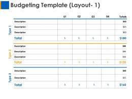 Budgeting Layout Ppt Layouts Designs Download