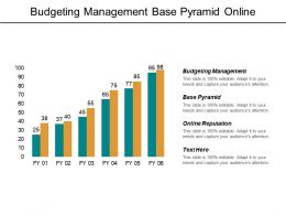 Budgeting Management Base Pyramid Online Reputation Business Assessments Cpb