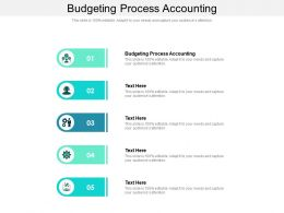 Budgeting Process Accounting Ppt Powerpoint Presentation Inspiration Portrait Cpb