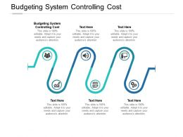 Budgeting System Controlling Cost Ppt Powerpoint Presentation Show Cpb