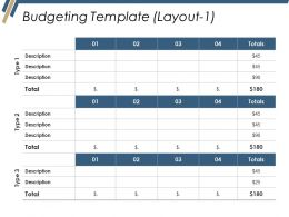 Budgeting Template Ppt Inspiration