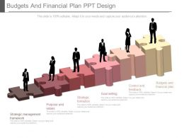 Budgets And Financial Plan Ppt Design