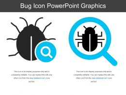 Bug Icon Powerpoint Graphics