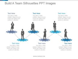 Build A Team Silhouettes Ppt Images