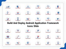 Build And Deploy Android Application Framework Icons Slide Ppt Powerpoint Gallery Styles