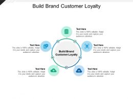 Build Brand Customer Loyalty Ppt Powerpoint Presentation Slides Example Cpb