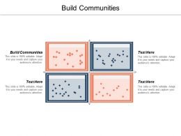 Build Communities Ppt Powerpoint Presentation File Professional Cpb