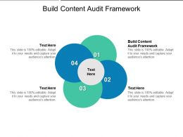 Build Content Audit Framework Ppt Powerpoint Presentation Icon Layout Ideas Cpb