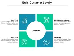 Build Customer Loyalty Ppt Powerpoint Presentation Visual Aids Files Cpb