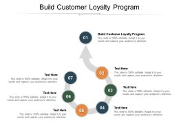Build Customer Loyalty Program Ppt Powerpoint Presentation Infographics Elements Cpb