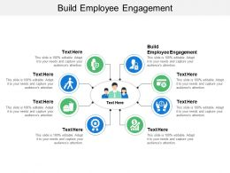 Build Employee Engagement Ppt Powerpoint Presentation File Objects Cpb