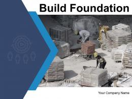Build Foundation Marketing Strategy Financial Successful Business Foundation Targets Performance