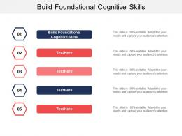 Build Foundational Cognitive Skills Ppt Powerpoint Presentation Summary Example File Cpb
