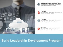 Build Leadership Development Program Ppt Powerpoint Slides Cpb