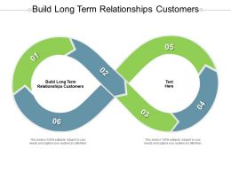 Build Long Term Relationships Customers Ppt Powerpoint Presentation Gallery Aids Cpb