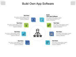 Build Own App Software Ppt Powerpoint Presentation Slide Download Cpb