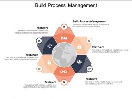 Build Process Management Ppt Powerpoint Presentation Styles Show Cpb