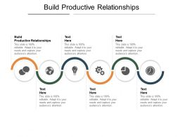 Build Productive Relationships Ppt Powerpoint Presentation Outline Example Cpb