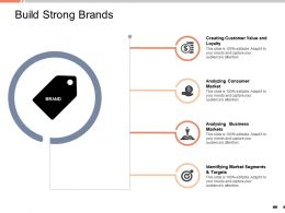Build Strong Brands Analysing Business Markets Ppt Powerpoint Presentation Tips