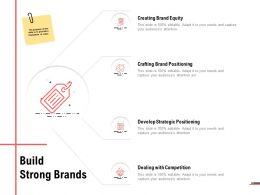 Build Strong Brands Dealing With Competition Ppt Powerpoint Presentation Icon Layouts