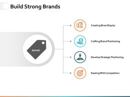 Build Strong Brands Ppt Powerpoint Presentation Diagram Lists