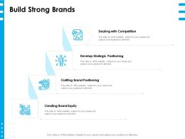 Build Strong Brands Ppt Powerpoint Presentation Layouts Infographic Template