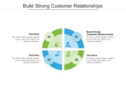 Build Strong Customer Relationships Ppt Powerpoint Presentation Pictures Grid Cpb