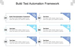 Build Test Automation Framework Ppt Powerpoint Presentation Outline Gallery Cpb