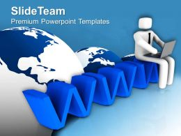 Build Your Business Network Online PowerPoint Templates PPT Themes And Graphics 0513