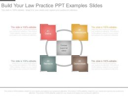 Build Your Law Practice Ppt Examples Slides
