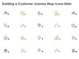 Building A Customer Journey Map Icons Slide Checklists K95 Ppt Powerpoint Presentation