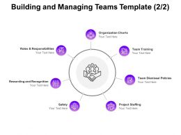 Building And Managing Teams Safety Ppt Powerpoint Presentation Infographic
