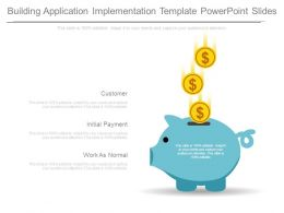 Building Application Implementation Template Powerpoint Slides