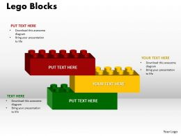 Building Blocks 3 stages