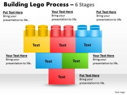 Building Blocks 6 Stages