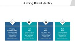 Building Brand Identity Ppt Powerpoint Presentation Summary Vector Cpb