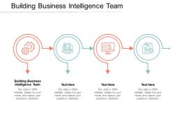 Building Business Intelligence Team Ppt Powerpoint Presentation Styles Backgrounds Cpb
