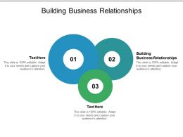 Building Business Relationships Ppt Powerpoint Presentation Summary Tips Cpb