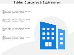 Building Companies And Establishment