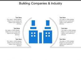 Building Companies And Industry