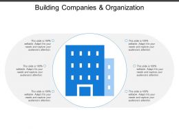 Building Companies And Organization